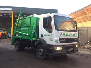 Smallwaste lorry