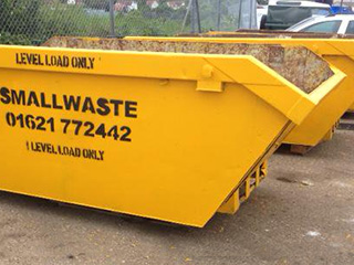 Smallwaste yellow skips